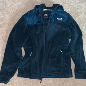 North Face Teal Fleece